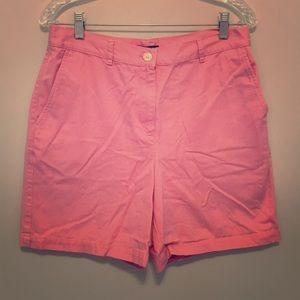 Light Pink RL Cotton Shorts